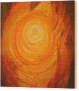 2. Sacral Chakra Wood Print
