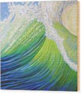 Inner Ocean - Exaltation Wood Print