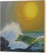 Inner Tide Wood Print