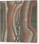 Inner Turmoil  Original Wood Print