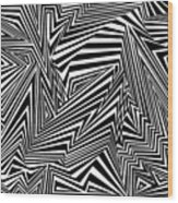 Inner Undulations Wood Print