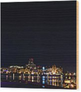 Inner Harbour Of Victoria Bc - 3 Wood Print