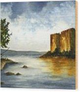 Innischonnel Castle Wood Print