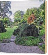 Innisfree Gardens Wood Print