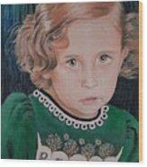 Innocence Wood Print
