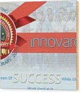 Innovare It Solutions Wood Print
