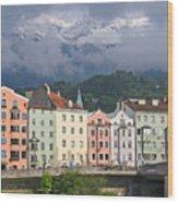 Innsbruck Wood Print