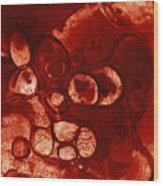 Inorganic Substance Wood Print