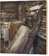Inside Barn Wood Print