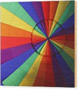 Inside Color Wood Print