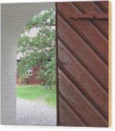Inside Home Wood Print