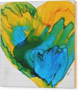 Inside My Heart 3 Wood Print
