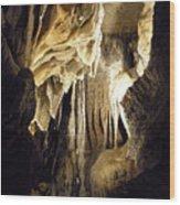 Inside Ruby Falls II Wood Print