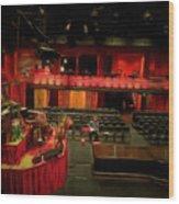 Inside Sydney Opera House Wood Print