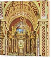 Inside The Basilica Wood Print
