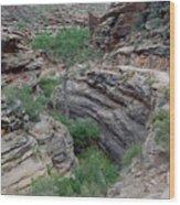 Inside The Grand Canyon 03 Wood Print