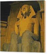 Inside The Luxor Hotel Wood Print