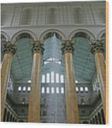Inside The National Building Museum Wood Print