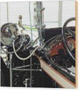 Inside The Packard - 2 Wood Print