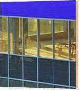 Inside The Windows  Wood Print