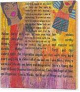 Inspiration Angels II Wood Print