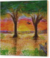 Inspiration On Jekyll Island Wood Print