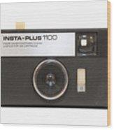 Instamatic Camera Wood Print
