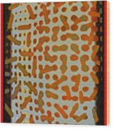 Intellectual Ameba Bacteria Synapse Wood Print