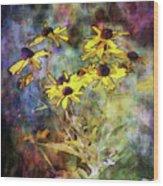 Intense Yellow 3227 Idp_2 Wood Print