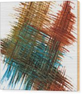 Intensive Abstract Painting 710.102610 Wood Print