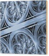Interchange Cyanotype Wood Print