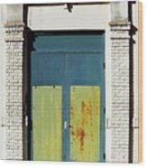 Interesting Door Wood Print