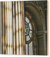 Interior Architecture Versailles Chateau France  Wood Print