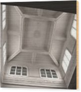Interior Of A Japanese Colonial Building Wood Print