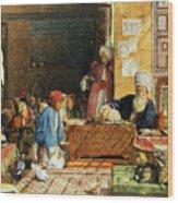 Interior Of A School - Cairo Wood Print