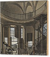 Interior Of The Radcliffe Observatory Wood Print