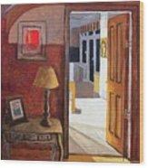 Interior Scene Wood Print