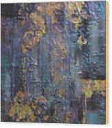 Interlace Wood Print