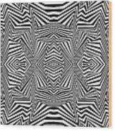 Interlinking Everything Wood Print