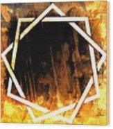 Interlocutor Wood Print