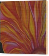 Internal Floral Wood Print