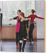 International Summer Dance School  Wood Print