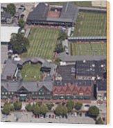 International Tennis Hall Of Fame 194 Bellevue Ave Newport Ri 02840 3586 Wood Print