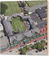 International Tennis Hall Of Fame 194 Bellevue Avenue Newport Ri 02840 3586 Wood Print by Duncan Pearson