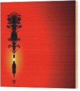 Interstellar Overdrive Three  Wood Print