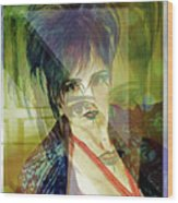 Intervening Hallucination Wood Print