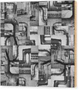 Intestins Wood Print