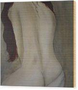 Intimacy Wood Print