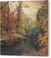 Intimate Autumn Wood Print