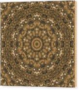 Into A Golden Basket Wood Print